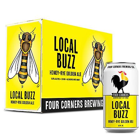 Four Corners Local Buzz Ale (12 fl. oz. can, 12 pk.)