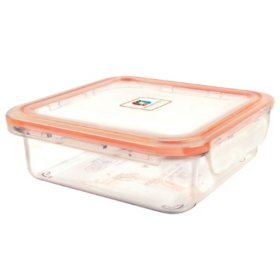 3.47-Cup Locking Food Storage Containers with Lid, 4 Pack (Assorted Colors)