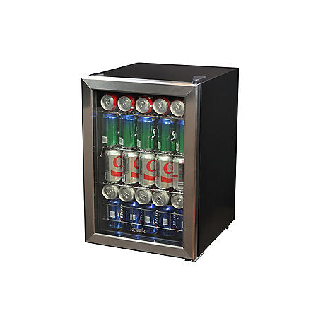 NewAir 90-Can Stainless Steel Beverage Cooler