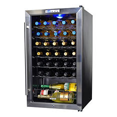 NewAir 33-Bottle Compressor Wine Cooler