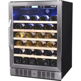 NewAir 52-Bottle Built-In Compressor Wine Cooler