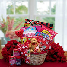 My Little Valentine Children's Gift Basket