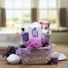 Spa Gift Basket Set, Select Scent