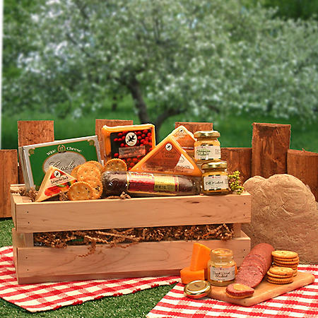 Signature Sausage and Cheese Crate