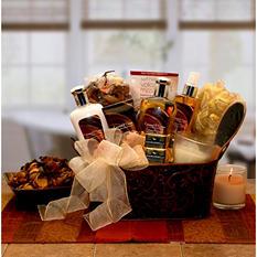 Caramel & Cream Bliss Spa Gift Basket