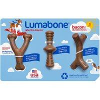 Lumabone Durable Chew Toys, Bacon Flavored (3 pk.)