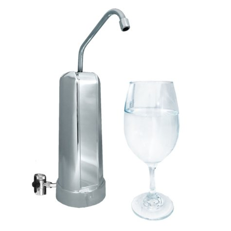 Pure Blue H2O P35 Filtered Countertop Faucet