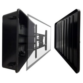 Storm Shell Weatherproof TV Enclosure with TV Mount