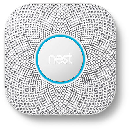 Google Nest Protect 2nd Generation, White (Choose Power Type)