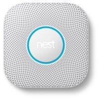Google Nest Protect 2nd Generation, White (Choose Power Type)