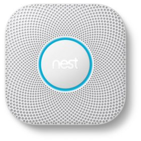 Nest Protect 2nd Generation, White (Choose Power Type)