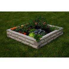 Self-Watering Garden Wizard Raised Garden Bed, Sandstone