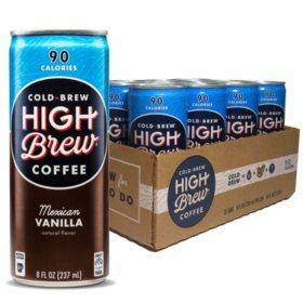 High Brew Cold Mexican Vanilla (8oz / 12pk)