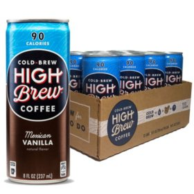 High Brew Cold Mexican Vanilla (8oz / 12pk)