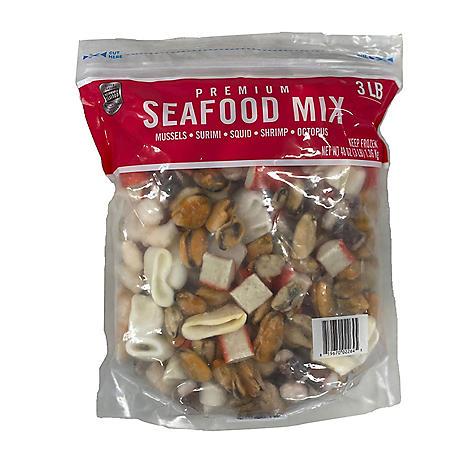 Seafood Mix (3 lbs.)
