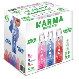 Karma Probiotic Water Variety Pack (18oz / 12pk)