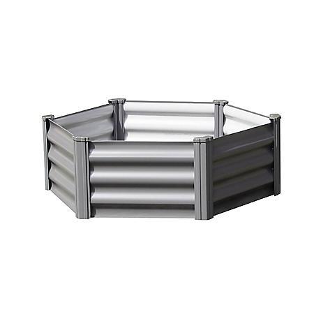 The Organic Garden Co Hex Garden Bed