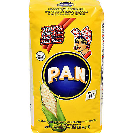 P.A.N. White Corn Meal (5 lbs.)