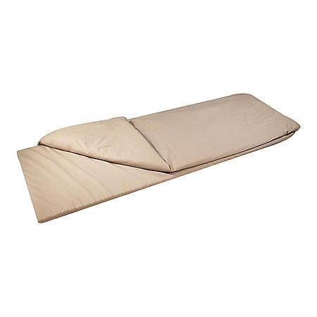 Duvalay with Luxury Memory Foam Sleeping Bag & Duvet, Adult Large