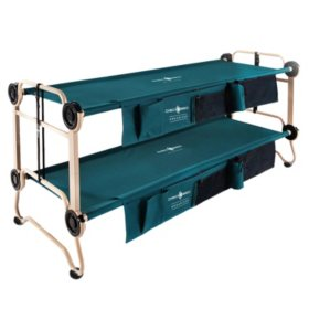 Disc-O-Bed Large with Side Organizers & Rubber Foot Pads