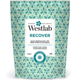Westlab Recover Epsom Bathing Salts with White Willow, Eucalyptus and Arnica