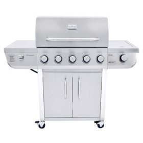 Even Embers 5-Burner Stainless Steel Gas Grill