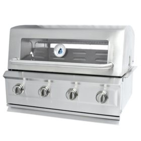 3 Embers Drop-In 4 Burner Grill
