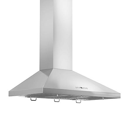 "ZLINE 36"" 760 CFM Wall-Mount Range Hood in Stainless Steel"