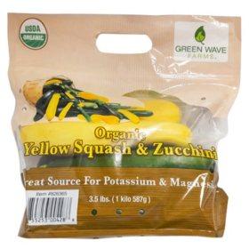 Organic Squash and Zucchini (3.5 lbs.)