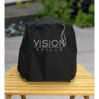 Full Length Grill Cover for Vision Cadet Kamado Grill