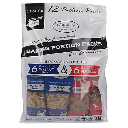 Glenda's Farmhouse Baking Portion Packs (12 pk.)