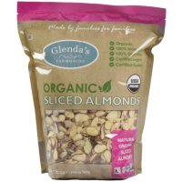 Glenda's Farmhouse Organic Sliced Almonds (27 oz.)