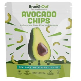 Branch Out Avocado Chips Sea Salt and Lime (4 oz.)