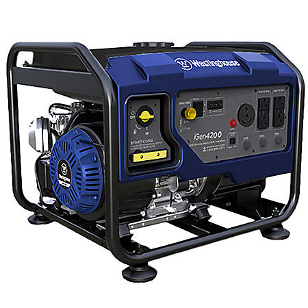 Westinghouse 3,500/4,200-Watt Gas-Powered Hybrid Inverter Generator