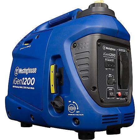 Westinghouse 1,000/1,200-Watt Gasoline-Powered Portable Inverter Generator