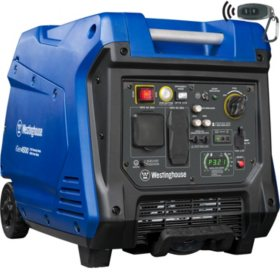 Westinghouse 3,700/4,500-Watt Gas-Powered Inverter Generator
