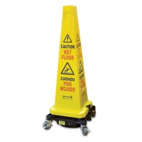 Bissell Commercial Hurricone Wet Floor Sign, Blower & Dryer