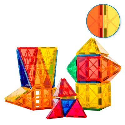 Tytan Magnetic Learning Tiles Building Set with 60 pieces
