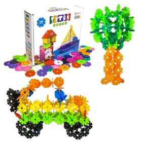 Tytan Chips 500 Interlocking Chip Set in Multicolor - STEM Inspires Kids to Create Build & Learn