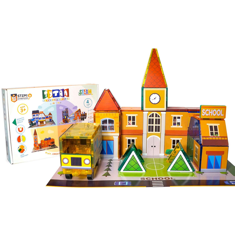 Tytan Cityscape Magnetic Tiles Building Kit