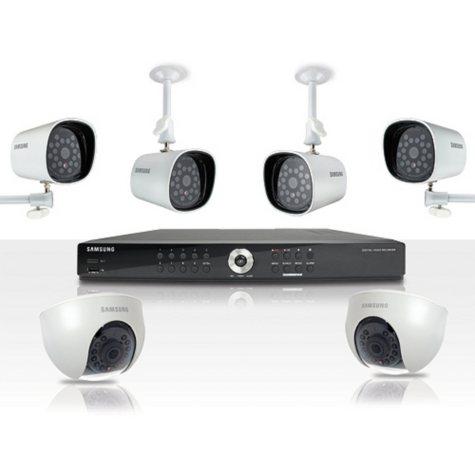 Samsung 8-Channel Real-Time DVR Surveillance System