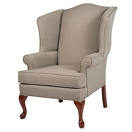 Ellis Pashmina Wingback Chair