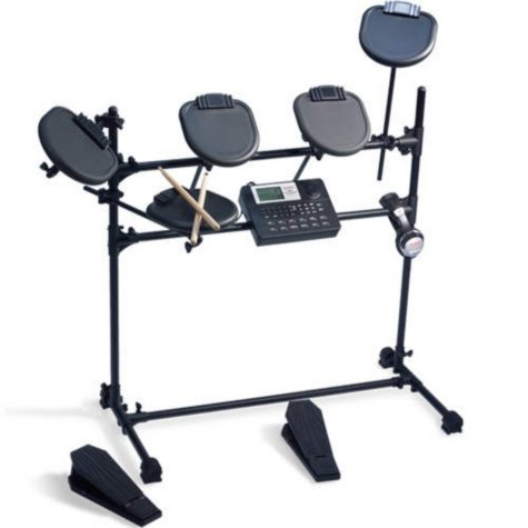 Ion iED01 Electronic Drum Set w/ Accessories