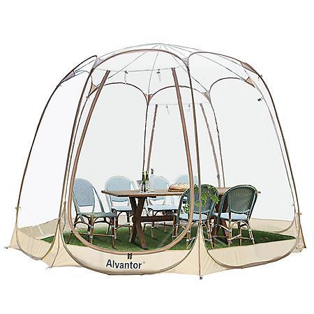 Alvantor Bubble Tent Pop Up Gazebo 12' x 12'  Camping Tent