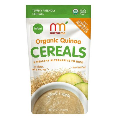 NurturMe Organic Quinoa Cereal, Apple (3.7 oz.)