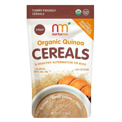 NurturMe Organic Quinoa Cereal, Sweet Potato & Raisin (3.7 oz.)