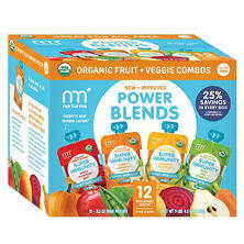 NurturMe Power Blends Fruit & Veggie Combos (3.5 oz., 12 ct.)