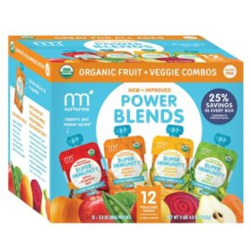 NurturMe Power Blends Fruit and Veggie Combos (3.5 oz., 12 ct.)