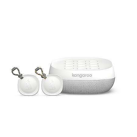 Kangaroo Home Security Siren + Keypad and 2 Roo Tags