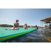 Floatation IQ: Ultimate Floating Oasis - Teal/Yellow/Teal
